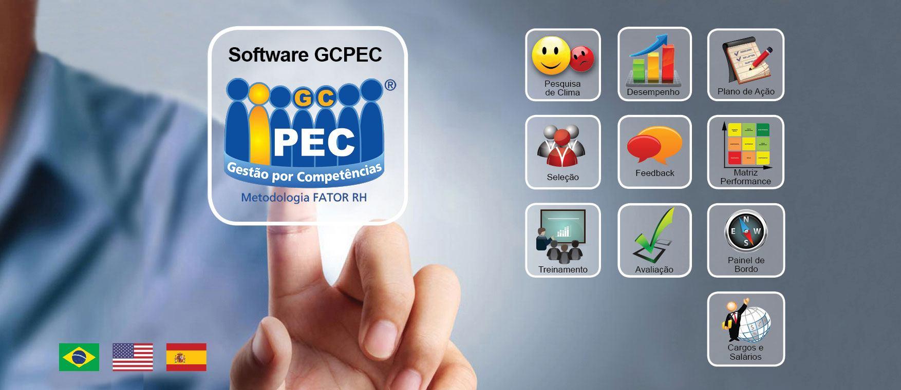 Software GCPEC - Gestão por Competências